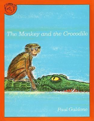 The Monkey and the Crocodile By Galdone, Paul